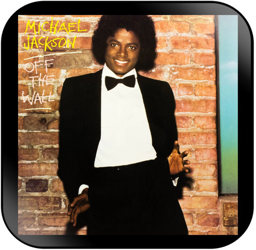 Michael Jackson Off the Wall Album Cover Sticker