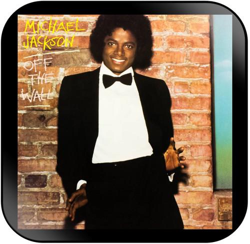 Michael Jackson Off the Wall Album Cover Sticker