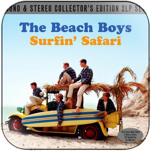 The Beach Boys Surfin Usa Album Cover Sticker Album Cover Sticker