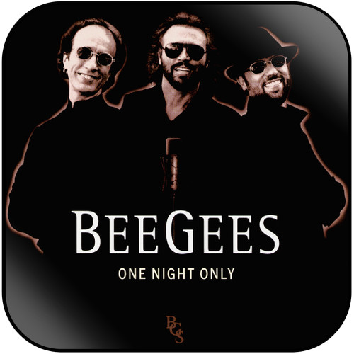 Bee Gees One Night Only-2 Album Cover Sticker Album Cover Sticker
