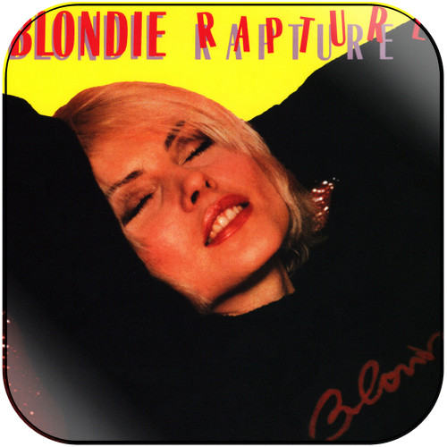 Blondie Rapture-2 Album Cover Sticker Album Cover Sticker