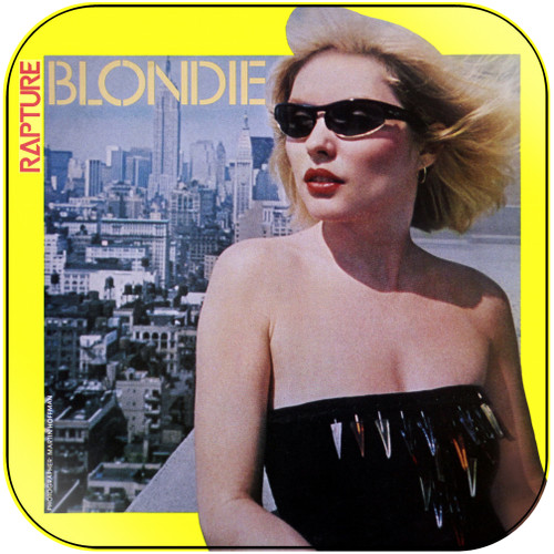 Blondie Rip Her To Shreds Album Cover Sticker Album Cover Sticker