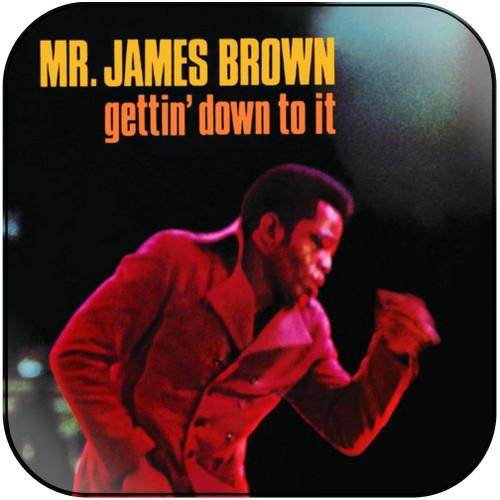 James Brown Godfather Of Soul Album Cover Sticker Album Cover Sticker