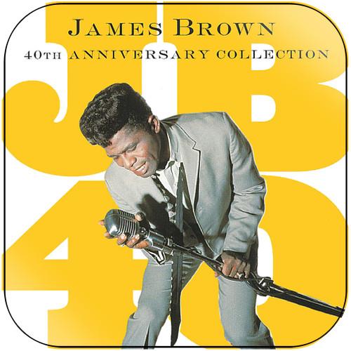 James Brown Live At The Apollo 1962-1 Album Cover Sticker Album Cover Sticker