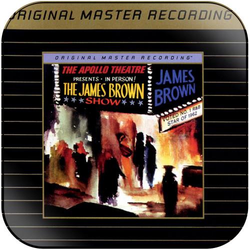 James Brown Live At The Apollo 1962-2 Album Cover Sticker Album Cover Sticker