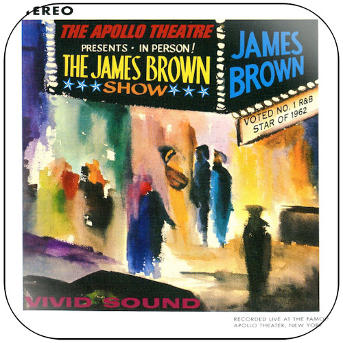 James Brown Live Album Cover Sticker Album Cover Sticker