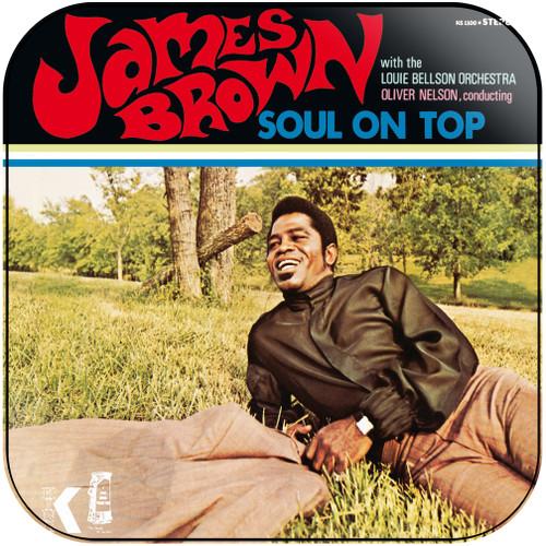 James Brown Soul Pride 1960 1969 Album Cover Sticker Album Cover Sticker