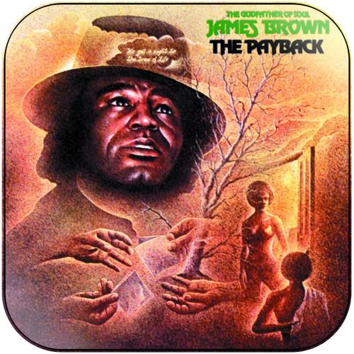 James Brown The Payback-2 Album Cover Sticker Album Cover Sticker