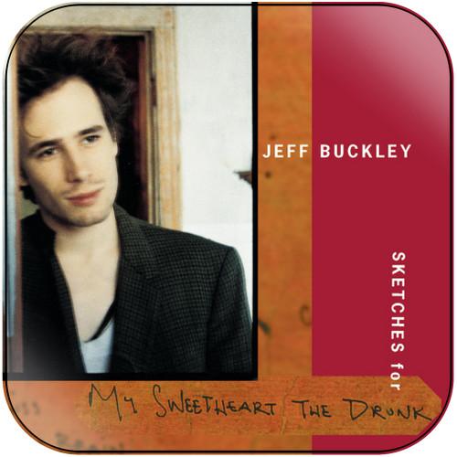 Jeff Buckley Blue Afternoon Album Cover Sticker Album Cover Sticker