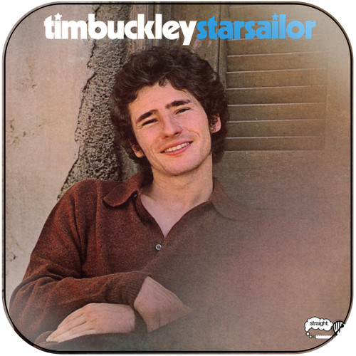 Tim Buckley Backpack Travels Album Cover Sticker Album Cover Sticker