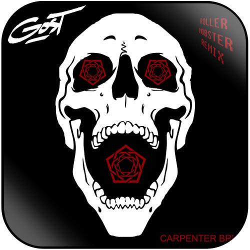 Carpenter Brut - Roller Mobster Gost Remix Album Cover Sticker Album Cover  Sticker