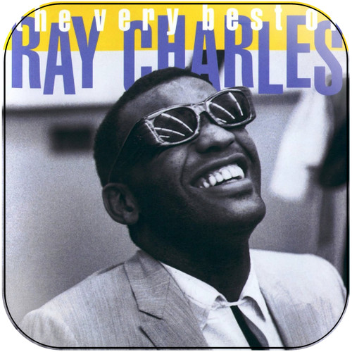 Ray Charles The Very Best Of Ray Charles Album Cover Sticker Album Cover Sticker