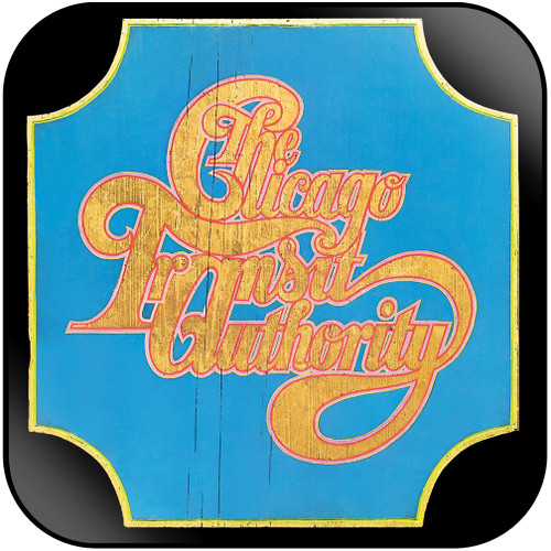 Chicago The Chicago Transit Authority Album Cover Sticker Album Cover Sticker