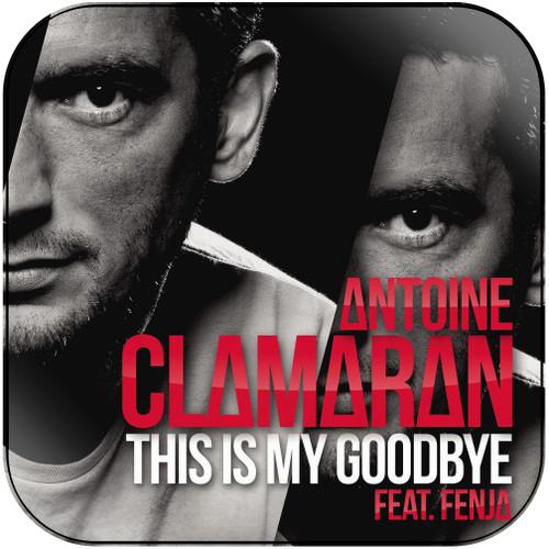 Antoine Clamaran This Is My Goodbye Album Cover Sticker Album Cover Sticker