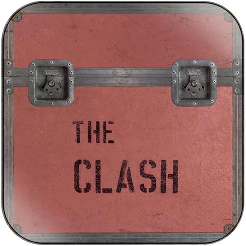 The Clash 5 Studio Album Cd Set Album Cover Sticker Album Cover Sticker