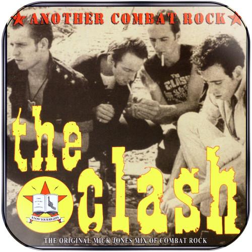 The Clash Another Combat Rock Album Cover Sticker Album Cover Sticker