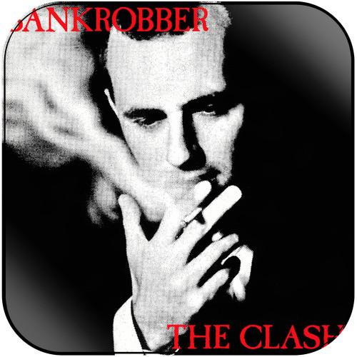 The Clash Bankrobber Album Cover Sticker Album Cover Sticker