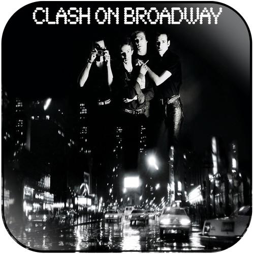 The Clash Clash On Broadway Album Cover Sticker Album Cover Sticker