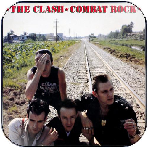 The Clash Combat Rock Album Cover Sticker Album Cover Sticker
