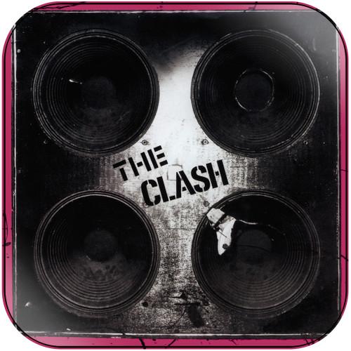 The Clash Complete Control Album Cover Sticker Album Cover Sticker