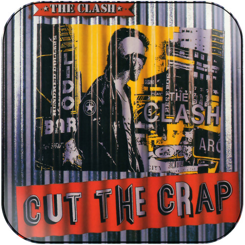 The Clash Cut The Crap-1 Album Cover Sticker Album Cover Sticker