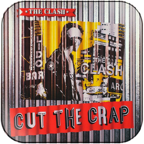 The Clash Cut The Crap-2 Album Cover Sticker Album Cover Sticker