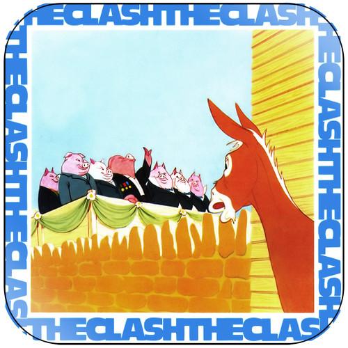 The Clash English Civil War Album Cover Sticker Album Cover Sticker