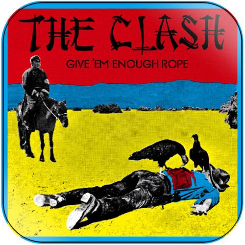 The Clash Give Em Enough Rope Album Cover Sticker Album Cover Sticker