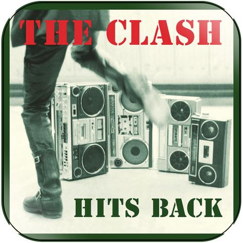 The Clash Hits Back Album Cover Sticker Album Cover Sticker