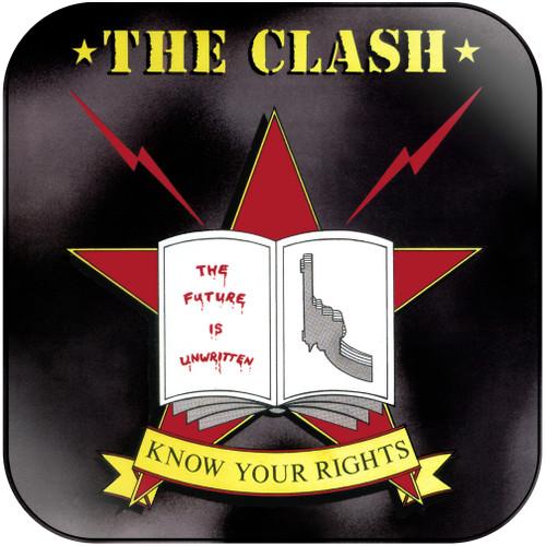 The Clash Know Your Rights Album Cover Sticker Album Cover Sticker