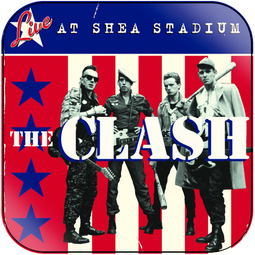 The Clash Live At Shea Stadium Album Cover Sticker Album Cover Sticker
