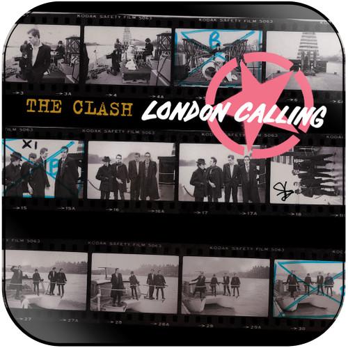 The Clash London Calling-1 Album Cover Sticker Album Cover Sticker