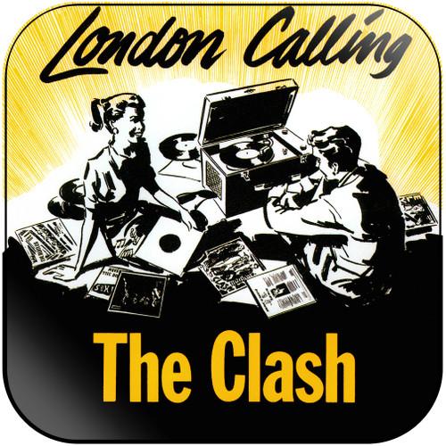The Clash London Calling-2 Album Cover Sticker Album Cover Sticker