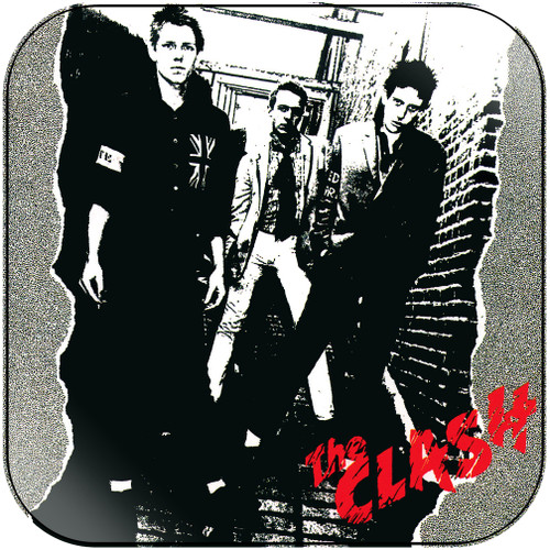 The Clash Remote Control Album Cover Sticker Album Cover Sticker