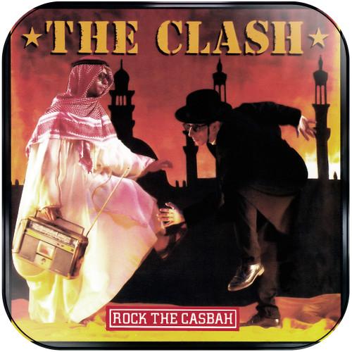The Clash Rock The Casbah Album Cover Sticker Album Cover Sticker