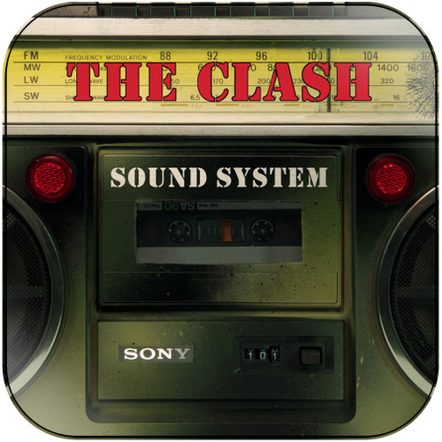 The Clash Sound System Album Cover Sticker Album Cover Sticker