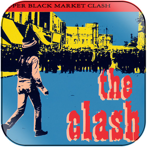 The Clash Super Black Market Clash Album Cover Sticker Album Cover Sticker