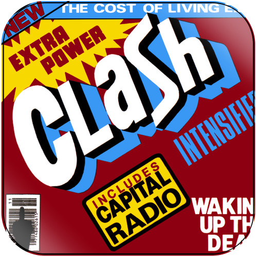 The Clash The Cost Of Living Ep Album Cover Sticker Album Cover Sticker