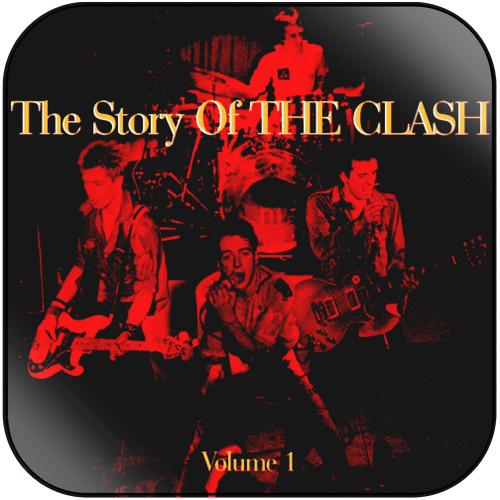The Clash The Story Of The Clash Volume 1 Album Cover Sticker Album Cover Sticker