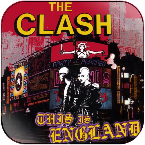 The Clash This Is England Album Cover Sticker Album Cover Sticker