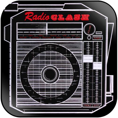 The Clash This Is Radio Clash Album Cover Sticker Album Cover Sticker