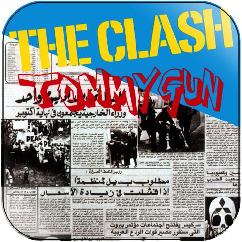 The Clash Tommy Gun Album Cover Sticker Album Cover Sticker