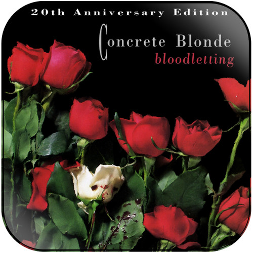 Concrete Blonde Bloodletting-2 Album Cover Sticker Album Cover Sticker