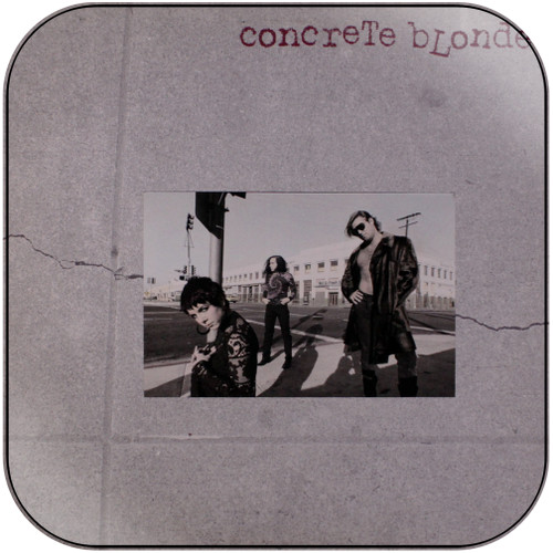 Concrete Blonde Concrete Blonde Album Cover Sticker Album Cover Sticker