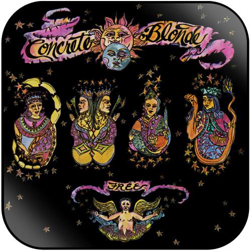 Concrete Blonde Free Album Cover Sticker Album Cover Sticker