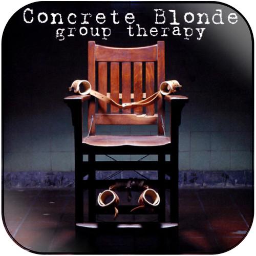 Concrete Blonde Group Therapy Album Cover Sticker Album Cover Sticker