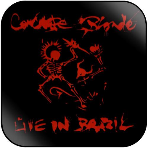 Concrete Blonde Live In Brazil Album Cover Sticker Album Cover Sticker