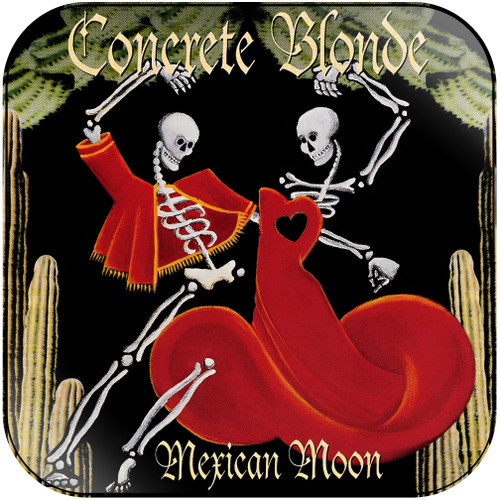 Concrete Blonde Mexican Moon Album Cover Sticker Album Cover Sticker