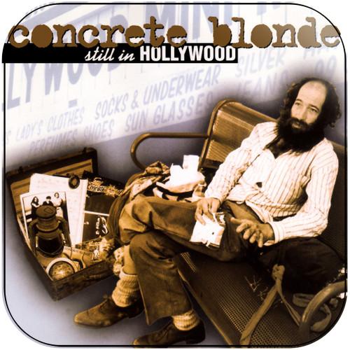 Concrete Blonde Still In Hollywood Album Cover Sticker Album Cover Sticker