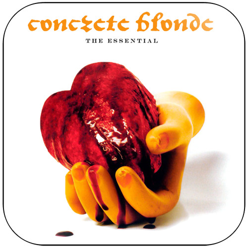 Concrete Blonde The Essential Album Cover Sticker Album Cover Sticker